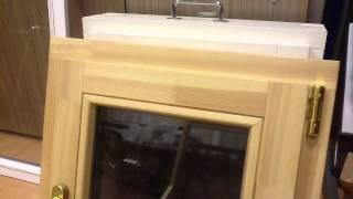 Деревянные окна из сосны третьей категории(Многие до сих пор считают, что деревянные окна делают по старинке при помощи рубанков, стамесок, киянок,..., 2014-04-18T07:28:17.000Z)