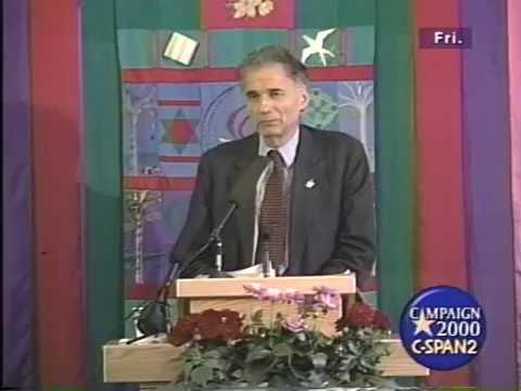 Ralph Nader Campaign Speech 2000