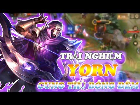 LIÊN QUÂN | Trải Nghiệm Skin Yorn Cung Thủ Bóng Đêm Cùng BestCooL Gaming