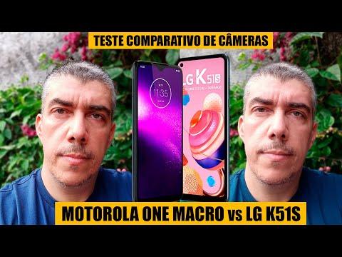 LG K51S e Motorola One Macro - Comparativo de câmeras