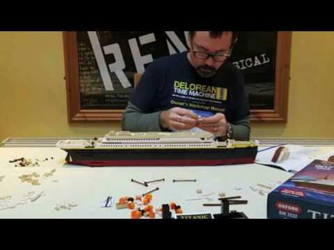 Lego Time-Lapse Build: Titanic (Oxford BM 3522)