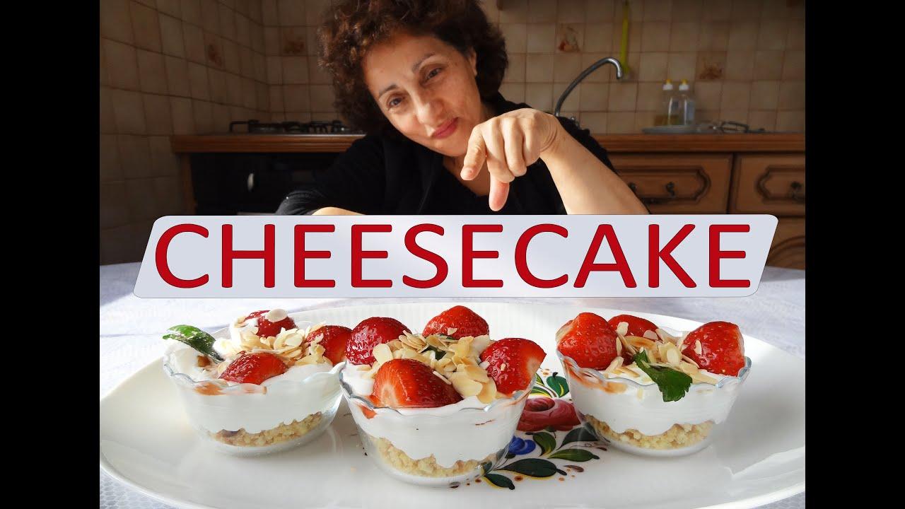 Cheesecake aux fraises fait maison, sans cuisson et sans ...