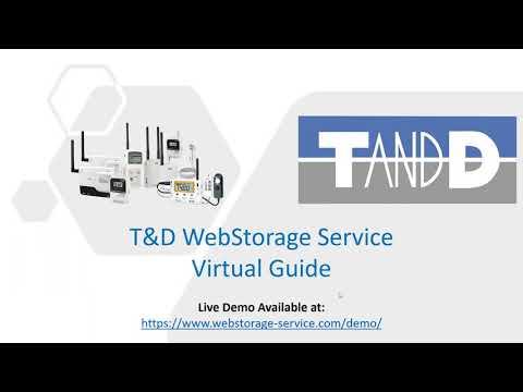 T&D WebStorage Service Virtual Guide