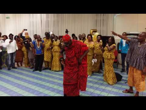 Ga Homowo festival in Germany Hannover