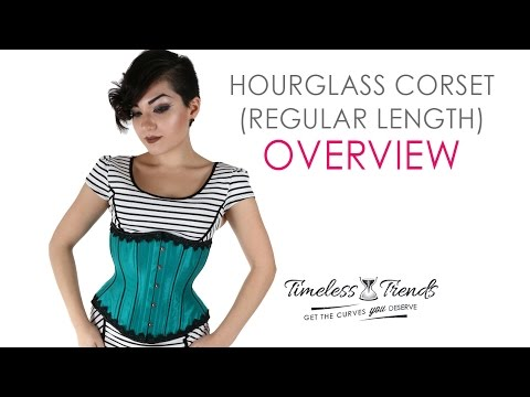 d6b48e0c84 Timeless Trends Hourglass Silhouette Corset Overview. TimelessTrends Corsets
