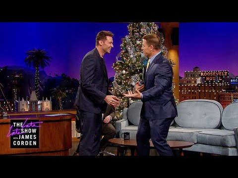 Hugh Jackman Has Dancing Tips & Tricks for John Cena