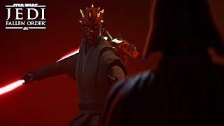 Darth Maul VS Darth Vader - STAR WARS Jedi: Fallen Order Ending (Mod)