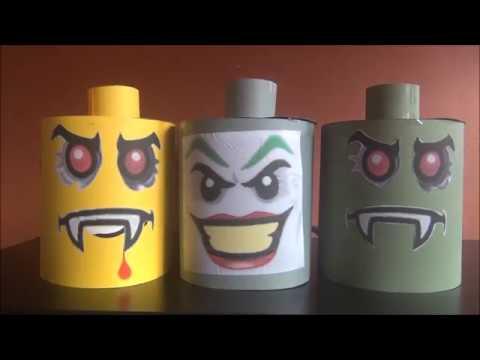 Diy bricolage faire la maison 51 masque lego halloween youtube - Bricolage a faire a la maison ...