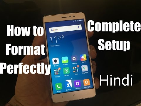 How to Complete Format & Setup Android Mobile [Hindi] streaming vf