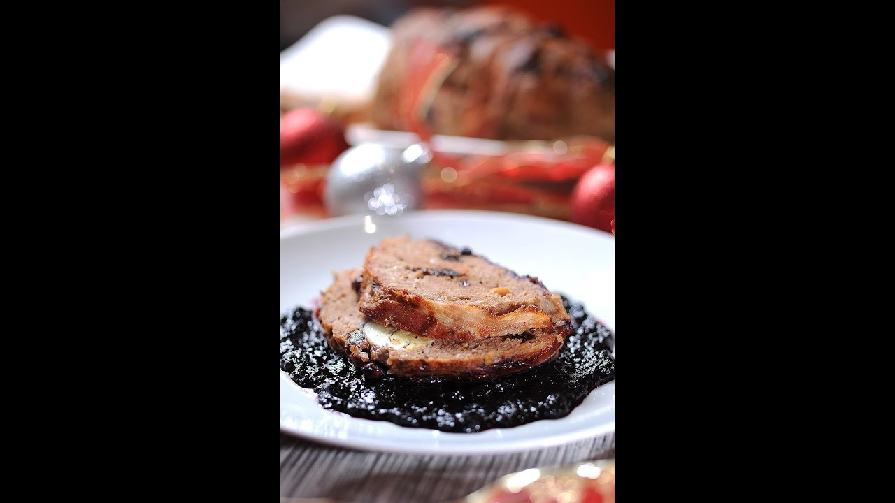 Christmas Meatloaf.Christmas Meatloaf