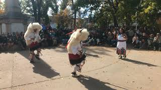 Indigenous Peoples Day Celebration 2017 - Laguna and Hopi Buffalo Dancers Clip 3