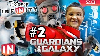 Guardians of the Galaxy Play Set - Part 2: Disney Infinity 2.0 (Dad & Son Commentary)