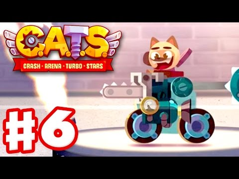 CATS: Crash Arena Turbo Stars - Gameplay Walkthrough Part 6 - More Boulder Action! (iOS)