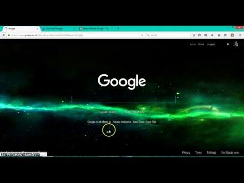Cara mengubah tema google di Mozilla Firefox