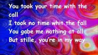call me maeby(lyrics)