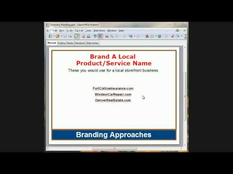 Colorado Business Hangout - How To Brand Your Business Effectively