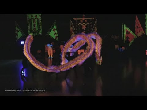 夜光龍 Hong Kong Open Luminous Dragon Dance Competition 2017