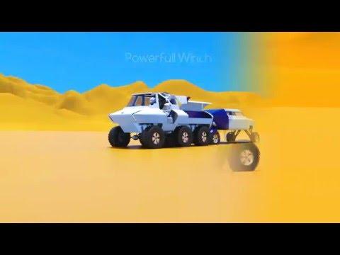 Automotive design for extreme circumstances: Desert City (Minor Automotive Design 2016)