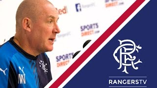PRESS CONFERENCE | Mark Warburton | 19 Nov 2015