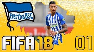 FIFA 18 | Karrieremodus mit Hertha BSC #01 | Vorbereitung | Transfers | Cup Karriere Highlights