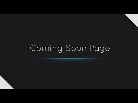 """Add a """"Coming Soon Page"""" to your WordPress Website."""