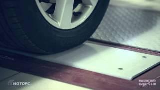 видео Диагностика подвески на вибростенде