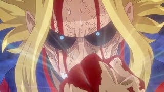 I WASN'T READY 4 THIS.... My Hero Academia Episode 48 Season 3 Ep 10 REVIEW All Might Vs All For One