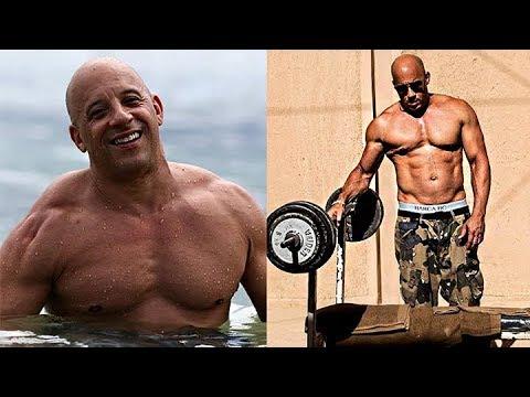 Vin Diesel Gym Training & Workout !!! 2017 - YouTube