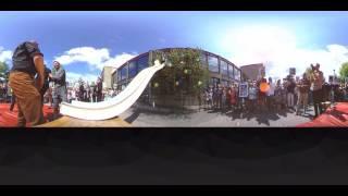 Teknikums student i 360 grader