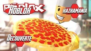 Roblox | Découverte du mod : Work at pizza place [FR/HD/60fps]