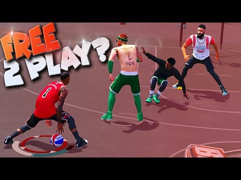 What If NBA 2K19 Has A FREE TO PLAY Model? NBA 2K18 Playground 3v3