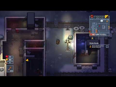 How to escape fort tundra in the escapists 2