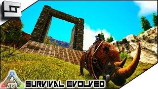 Rhino Tamed and Taming Pen! ARK: Survival Evolved E11 ( Ark Ragnarok Map )