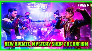 Mystery shop 7.0 confirm date in free fire in Telugu||Free fire New update in Telugu