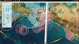 7/18/2018 -- Earthquake pressure transfer PROVED -- W. Pacific seismic unrest spreading