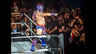 vuclip WWE news Kalisto's wife says the 205 Live star needs stitches and an MRI after bottle