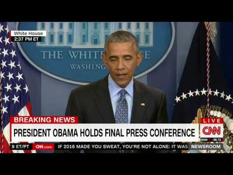 President Obama Discusses Russian Agression in Crimea at Press Conference