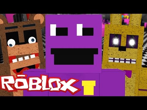 Play As The Purple Man And All Animatronics Roblox Animatronic