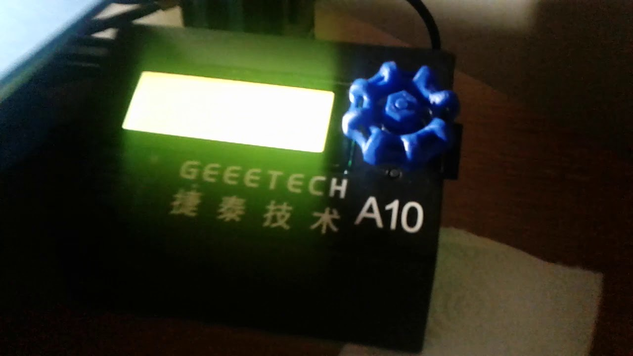 Geeetech A10 Printer Upgrades