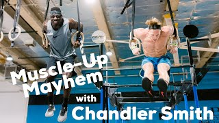 CrossFit Games Prep Gymanstics Workout Noah Ohlsen Ft Chandler Smith Crew