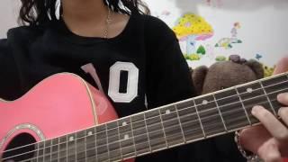 Hỏi thăm nhau guitar cover by Hường Kẹo