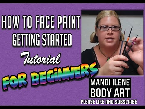 How to get started with Face Painting, Tutorial for beginners