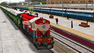 Puri - Yasvantpur Weekly Garib Rath Express | MSTS Indian Railways | Train Simulator