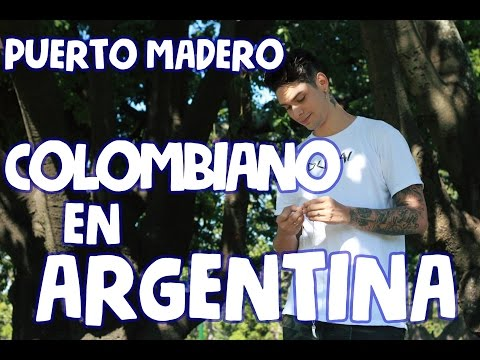 COLOMBIANO EN BUENOS AIRES - PaisaVlogs