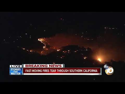 Rye Fire in Santa Clarita scorches 5,000 acres