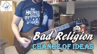 Bad Religion - Change Of Ideas - Guitar Cover (Tab in description!)