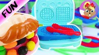 Play-Doh Kitchen Creations z Doktorem Ząbkiem | pyszne śniadanie
