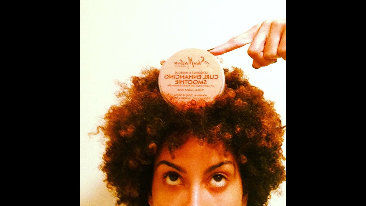 Wash N Go With Shea Moisture Curl Enhancing Smoothie Youtube
