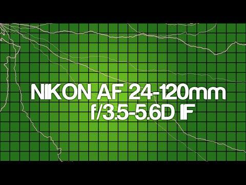 Тест - обзор объектива NIKON Nikkor AF 24-120mm F3.5-5.6 D IF