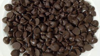 Chocolate Chips Recipe/Homemade Chocolate Chips Recipe/চকলেট চিপস রেসিপি/হোমমেইড চকলেট চিপস রেসিপি।